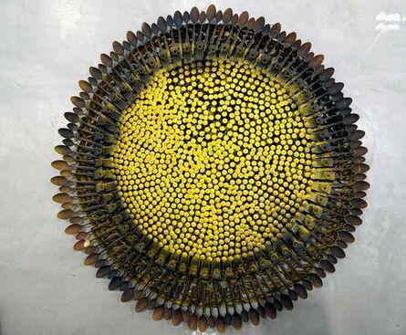 Olu Amoda, 'Medium Sunflower ', 2014