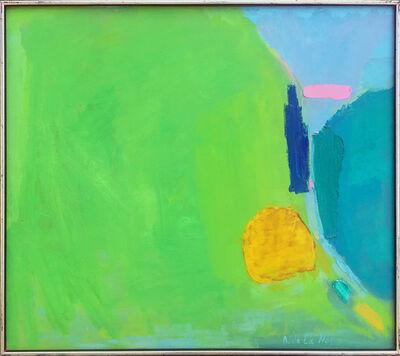 Adeine de la Noe, 'Abstract Landscape, Spring', ca. 1980s