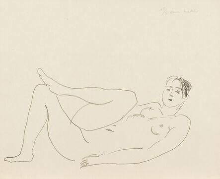 Henri Matisse, 'Nu couché, jambe repliée – Étude de jambes', 1925