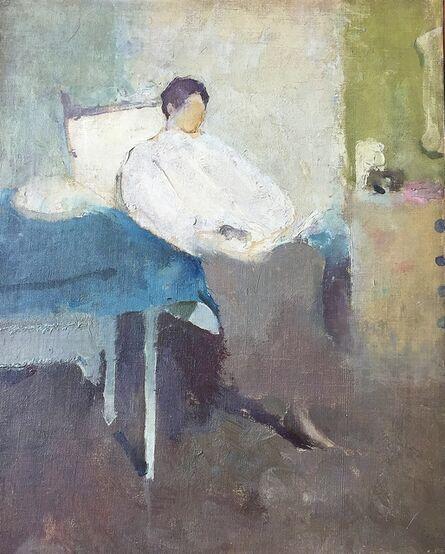 Margery Austen Ryerson, 'Woman Reading', 1915-1920