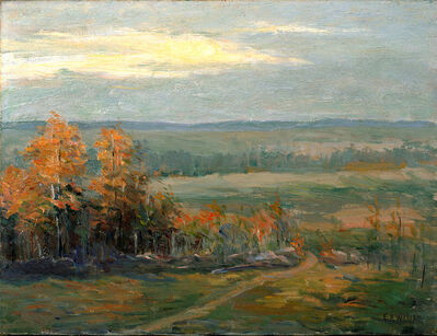 Ellen Axson Wilson, 'Princeton Landscape', ca. 1913