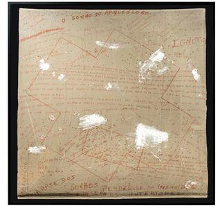 """Artur Barrio, '""""O sonho do arqueólogo"""" ', 1982"""