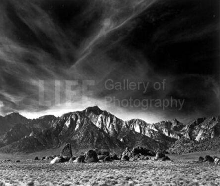 Andreas Feininger, 'Landscape, California', 1952