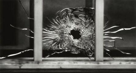 Robert Longo, 'Untitled (Bullet Hole in Window, January 7, 2015)', 2015-2016
