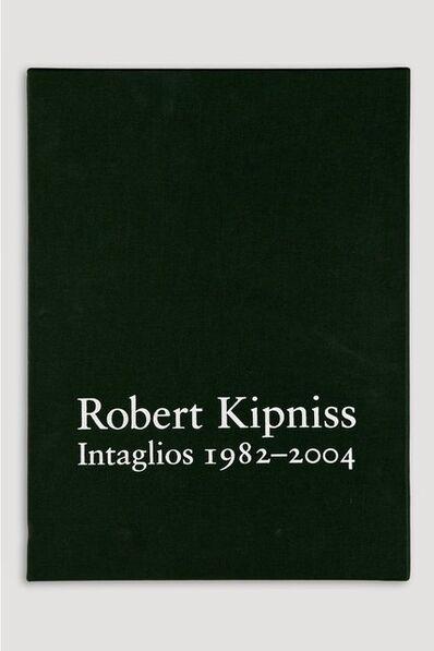 Robert Kipniss, 'Deluxe Volume of Robert Kipniss Intaglios 1982-2004, Catalogue Raisonné', 2004