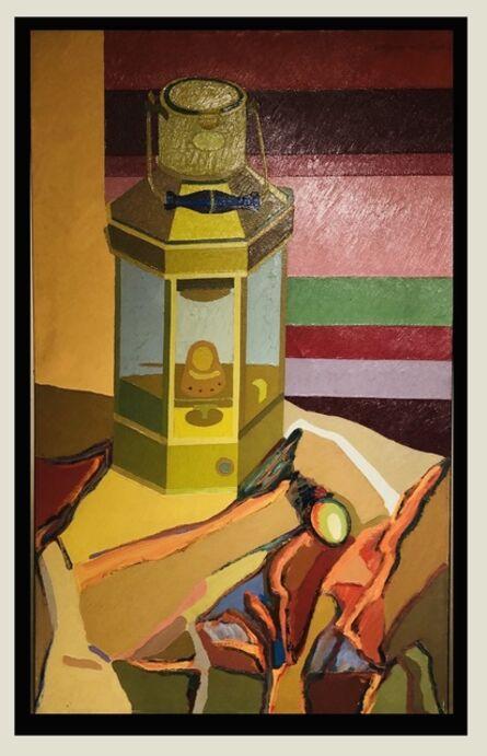 Ramón Vergara Grez, 'La lampara y el huevo', 1970