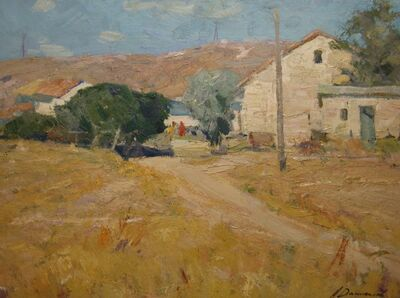Aleksandr Timofeevich Danilichev, 'Sunny day in Kashantip', 1962