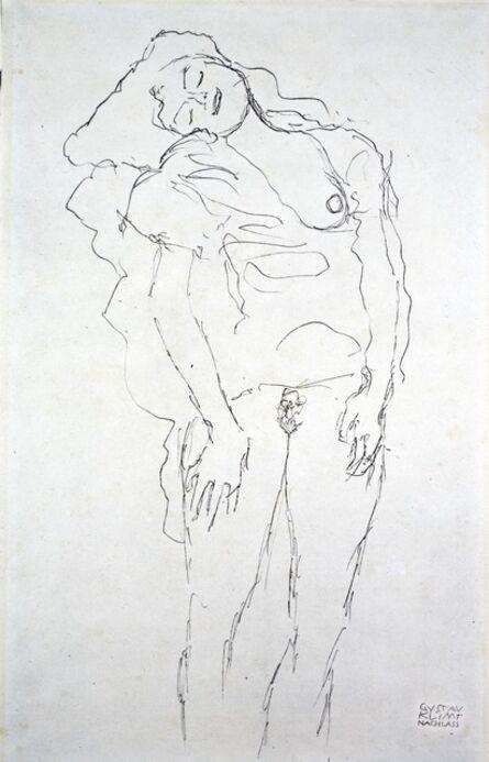 Gustav Klimt, 'Nude [Fünfundzwanzig Handzeichnungen]', 1919