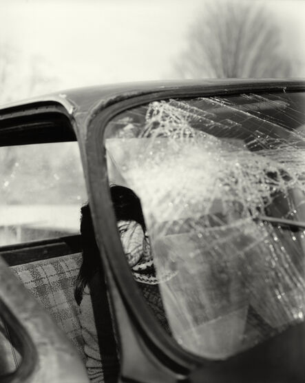 """Sally Mann, 'Untitled from the """"At Twelve"""" Series, Katie and the Broken Windshield', 1983-1985"""