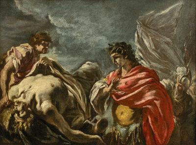 Giovanni Antonio Pellegrini, 'Alexander Before the Body of Darius', 1702-1703