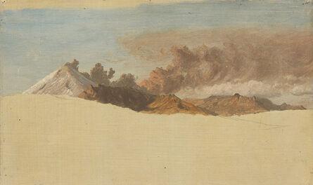 Frederic Edwin Church, 'Cotopaxi seen from Ambato, Ecuador', 1853