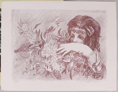 Charles Calvert, 'Girl with Flowers', 1960's