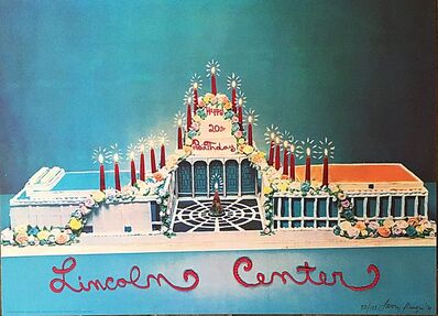 Larry Rivers, 'Happy 20th Birthday Lincoln Center', 1979