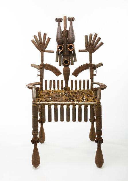 Gonçalo Mabunda, 'The Throne of the Mandated', 2016