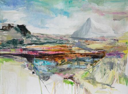 Edwige Fouvry, 'La montange enneigée', 2018