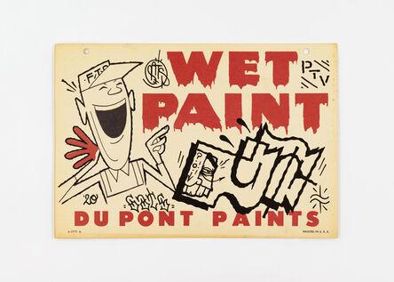 GATS, 'Wet Paint 1', 2020