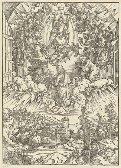 Albrecht Dürer, 'Saint John before God and the Elders', 1498