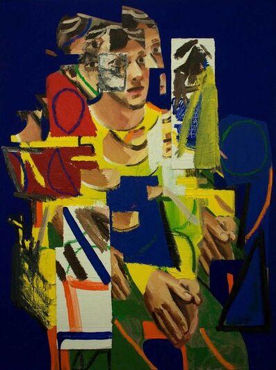Erik Olson (b. 1982), 'Looking at Munch (The Student)', 2017