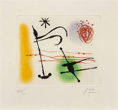 Joan Miró, 'Suite: La Bague d'Aurore', 1957