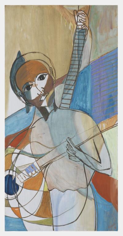 Ficre Ghebreyesus, 'Seated Musician VI', 2011