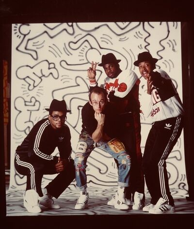 Keith Haring, 'Untitled(Keith & Run D.M.C.', ca. 1986