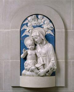 Andrea della Robbia, 'Virgin and Child', ca. 1470–1475
