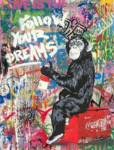 Mr. Brainwash, 'Everyday Life - Follow Your Dreams', 2020
