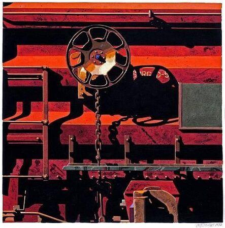 Robert Cottingham, '34 For Rowland', 1990