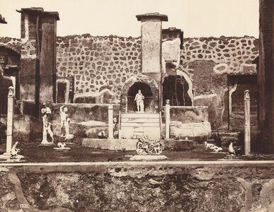 Giorgio Sommer, 'View of Pompeii, Casa di Marco Lucrezio', ca. 1870