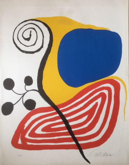 Alexander Calder, 'Spiral Composition', ca. 1970