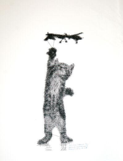 Patrick Lichty, 'RIC: Random Internet Cat vs. Predator #1', 2014
