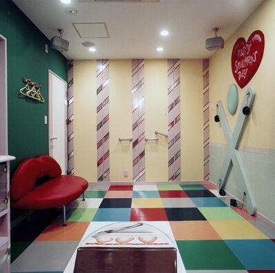 Misty Keasler, 'Cake Room, Snowman's Hotel, Kobe', 2005