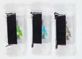 KAWS, 'Blitz, keychains (three works)'