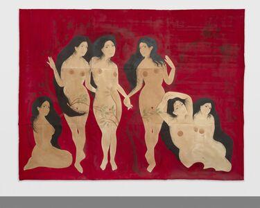 Hiba Schahbaz, 'Gathering', 2018