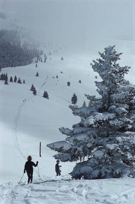 Slim Aarons, 'Skiing In Vail ', 1964