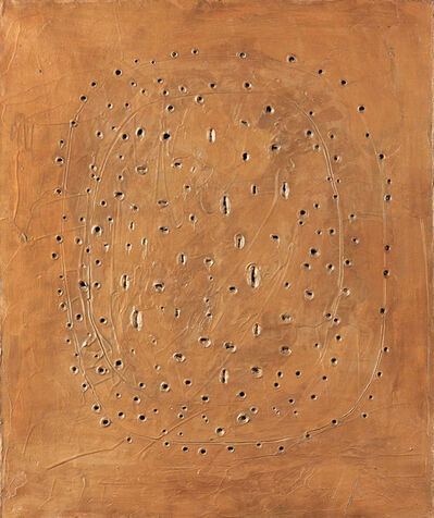 Lucio Fontana, 'Concetto Spaziale', 1960–61