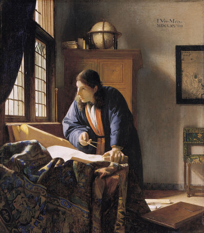 Johannes Vermeer, 'The Geographer', 1669