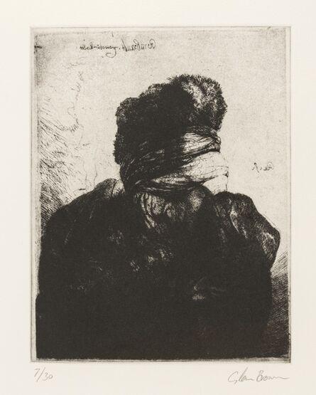 Glenn Brown, 'Layered Portraits (after Rembrandt) 7', 2008