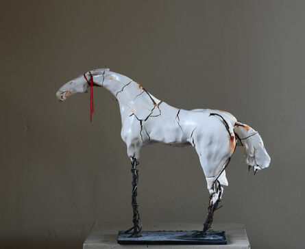Carl Dahl, 'White Horse', 2020