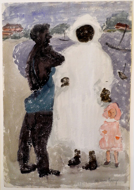 Milton Avery, 'Study for The Nursemaid', ca. 1934