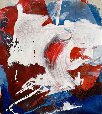 Janet Filomeno, 'Blue Crystals Revisited no.20', 2019