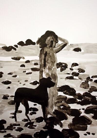 Hanna Ilczyszyn, 'Girl with a Dog', 2018