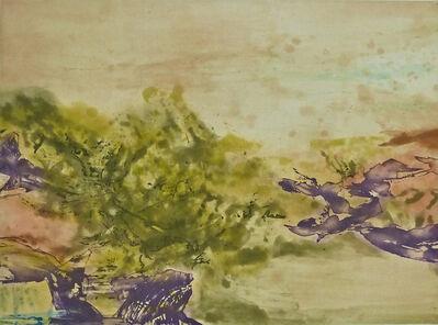Zao Wou-Ki 趙無極, ' Etching No. 325', 1986