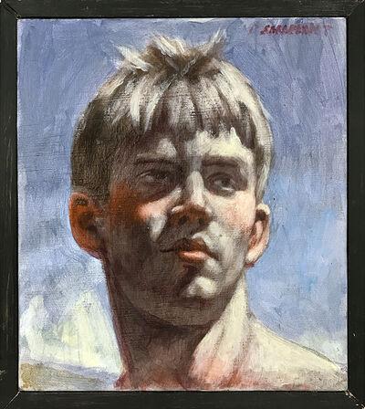 Mark Beard, '[Bruce Sargeant (1898-1938)] Justin Head Study', n.d.