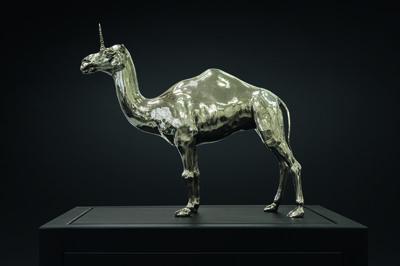 Mauro Corda, 'Petit chameau - licorne', 2015
