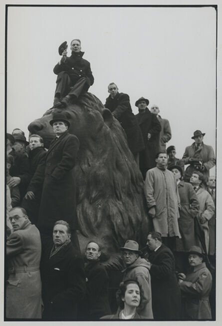 Henri Cartier-Bresson, 'Funeral of King George VI', London 1952