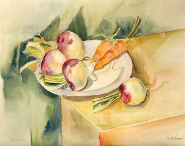 Richard Hayley Lever, 'Still Life: Turnip and Carrots', ca. 1923