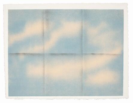 Joe Goode, 'Grey Folded Clouds - I Blue and Pink', 1971