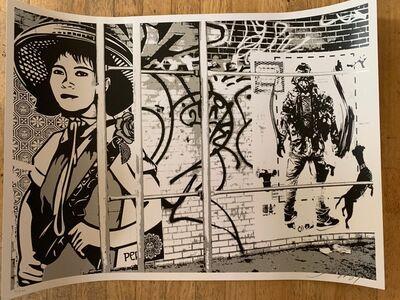 Shepard Fairey, 'Revolution Girl', 2007