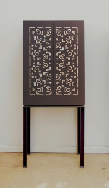 Pilar Climent, 'Oriental Cabinet with Mother of Pearl'